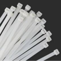 Fehér színű gyorskötegelő 530 mm x 9 mm-es méretben