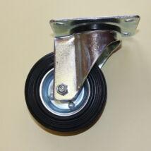 Tömörgumis kerék forgó villával 125-ös átmérőben
