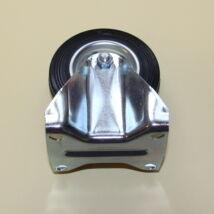 Tömörgumis kerék fix villával 100-as átmérőben