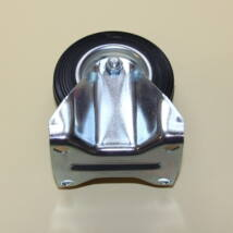 Tömörgumis kerék fix villával 80-as átmérőben