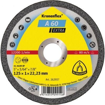 Vágókorong 125x1-A60-EX Klingspor