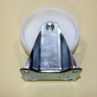 Poliamid kerék fix villával 125-ös átmérőben